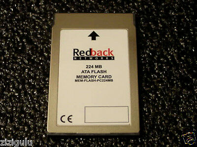 NEW REDBACK 224MB PCMCIA Flash ATA PCMCIA Memory CARD