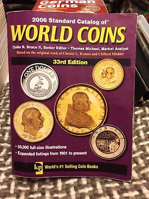 Krause 2006 Standard Catalog of World Coins 33rd Edition