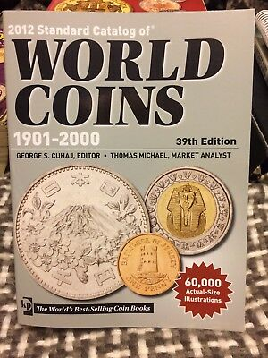 Krause 2012 Standard Catalog of World Coins 1901-2000 39th Edition