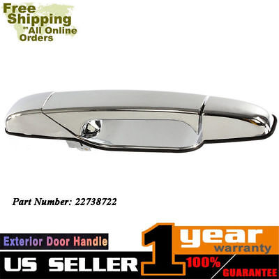 New Door Handle Front Passenger Right Side Chevy Yukon Chrome RH Hand 22738722