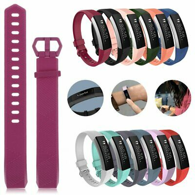 Colorful Silicone Watch Band Wrist Bracelet Strap For Fitbit Alta / Alta HR EA