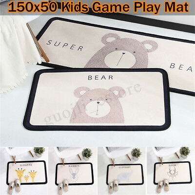 Baby Game Activity Play Crawling Mat Soft Kids Children Rug Carpet Blanket Pad