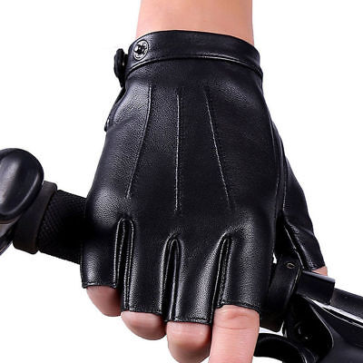 Women's Genuine Leather Gloves Waterproof Motorcycle Cycling Outdoor Driving