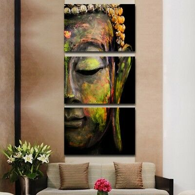 Canvas Picture Buddha Oil Effect Painting Wall Art Paintings Picture Paiting HR5
