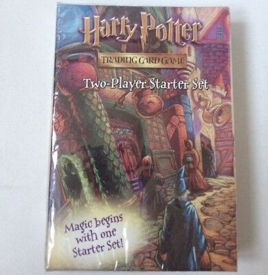 HARRY POTTER TRADING CARD GAME two player starter set 2001 wizards of the coast