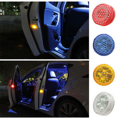 3/5 LED Universal Car Door Opened Warning Light Anti-collid Safety Wireless Lamp