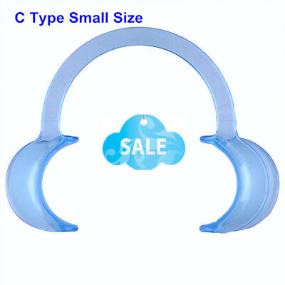 1PC Blue Dental Teeth Whitening Cheek Retractor Mouth Opener C Type Small Size