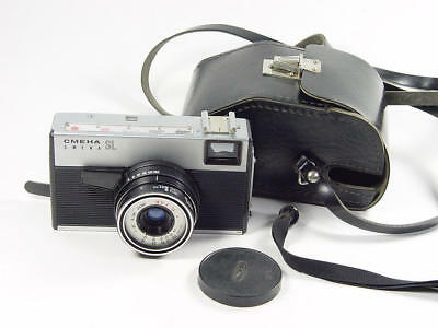 LOMO SMENA-SL (Rapid) 35mm RF camera with T-43 4/40mm lens Made in USSR