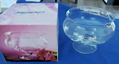 Glass Compote - Perfect To Display Salads Or Deserts Etc - 20Cm Wide X 16Cm High