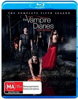 The Vampire Diaries: Season 5 Blu-ray Region B (New)