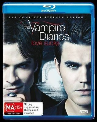 The Vampire Diaries: Season 7 Blu-ray Region B (New)