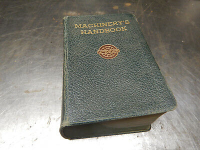 Vintage 1953 Machinery's ' Handbook Machinist Book