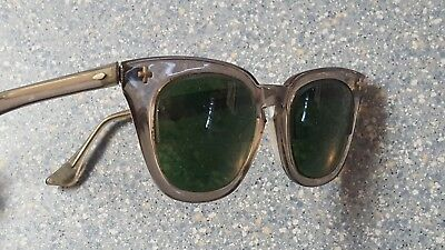 Bausch & Lomb Vintage Safety Glasses Frames 1950's Heavy B & L Cross on Front