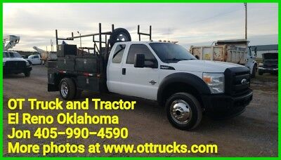 2011 Ford F-450 XL 2011 Ford F-450 4wd Super Cab 11ft Flatbed 6.7L Diesel F450 Extended Cab