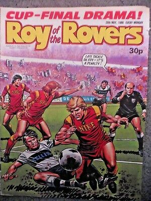 Roy Of The Rovers Comic 28/5/1988 Vintage Rare Vgc
