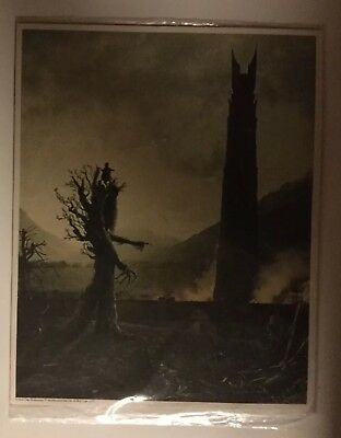 Lord of the Rings Middle-earth Print - Loot Crate Exclusive 8x10
