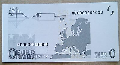 0 Euro Banknote Note Greece From Bundle! Novelty