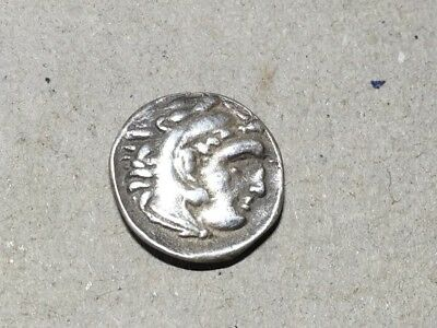Alexander The Great Drahcm silver