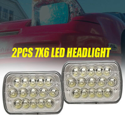 Rectangle Sealed Beam Headlamps Headlights 2pack(Set of 2)for Chevy Pickup Truck