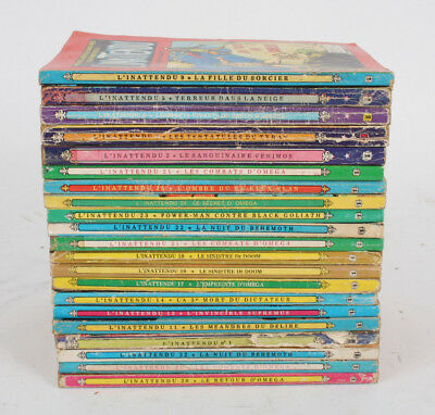 L'INATTENDU - Lot de 21 BD COMICS Pocket - Artima