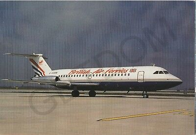 Bac 111-20 British Air Ferries Gocnw Stansted Aircraft