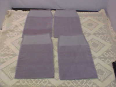 Presentation Pouches Four Total Gray 6 x 7-1/4 Faux Ultra Suede Plaque Holder