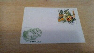 1996 Republic Togolaise Fruits   Mini Sheet First Day Cover