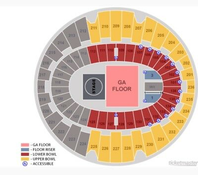 2 Tickets KROQ Acoustic Christmas The Forum Night 2 Section 111 Row 11