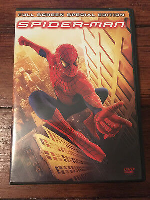 Spider-Man DVD  Two Disc Full Screen Special Edition - Free Shipping!