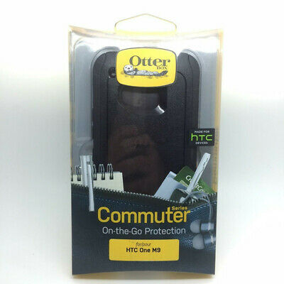 New OEM OtterBox Commuter Series Black Case For HTC One M9