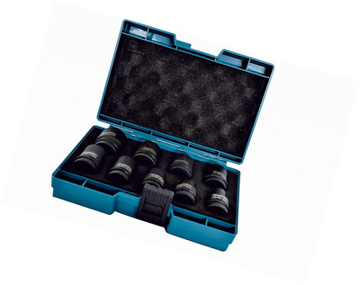 Makita D-41517 Wrench Impact Socket Set 1/2 Inch Drive 9 Piece, Black