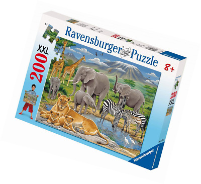 200 Pieces Ravensburger Animals in Africa XXL Jigsaw Puzzle