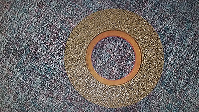 """Nylogrit 13"""" rotary brush shower feed scrubber instalock pad driver 30349 5"""""""