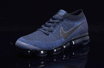 Nike Air Vapormax 2018 Men's (BluBlk)- Running Shoes Movement Fitness City Trail