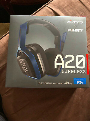 Brand New Astro A20 COD Wireless Gaming Headset for PS4 PC Mac MODEL A20G01