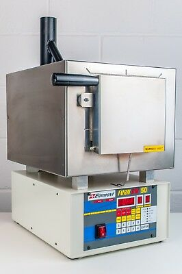Emmevi Zhermack FURN DM 50 Dental Laboratory Furnace Oven 1100°C Programmable
