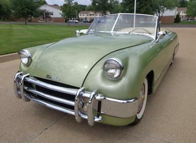 1951 Muntz Jet Convertible 1951 Muntz Jet Convertible #'s Matching 337 Lincoln Flat Head Hop Up Kit Rare!!!