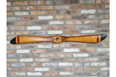 Small Wooden Propeller wall art reproduction vintage Plane Propeller