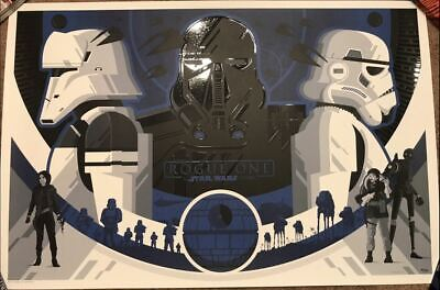 Tom Whalen Rogue One: A Star Wars Story Variant Hand Numbered #/150 BNG