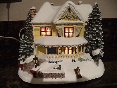 Victorian Homestead from Thomas Kinkade's Village Christmas collection