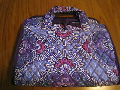VERA BRADLEY HANGING COSMETIC TRAVEL ORGANIZER  in LILAC TAPESTRY NWT