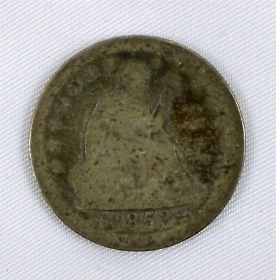 1853 US Quarter Dollar 25¢ with Arrows and Rays