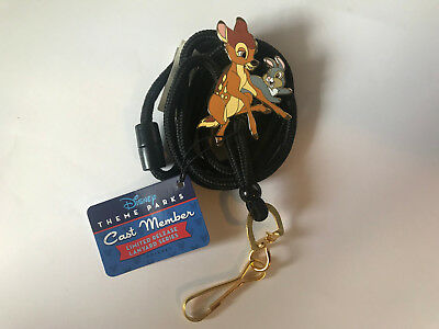 Disney DLR Cast Exclusive Limited Release Bolo Lanyard - Bambi an Thumper