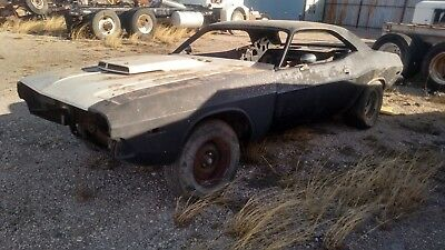 1973 Dodge Challenger  73 dodge challenger with 70 sheetmetal