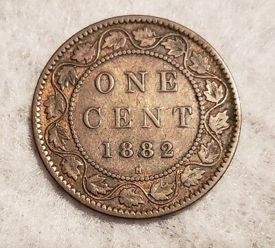 1882H Canada Large Cent