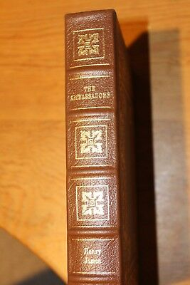 The Easton Press The Ambassadors by Henry James 1994 Leatherbound Gilded