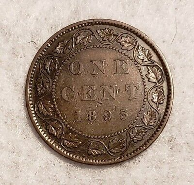 1893 Canada Large Cent