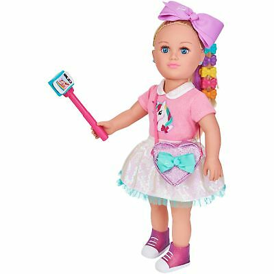 NEW myLife Brand Products My Life As 18-inch JoJo Siwa Doll, Blonde Hair