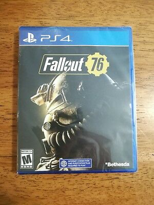 NEW SEALED Sony PS4 Fallout 76 - PlayStation 4 FAOCSTP4PENA