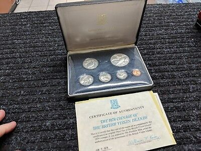 1972 Cayman Islands Silver Proof Coin Set (8 Coins)! - #14